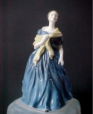"""Royal Doulton Figurine Adrienne HN 2304   7-1/2"""" tall  Excellent  Condition"""