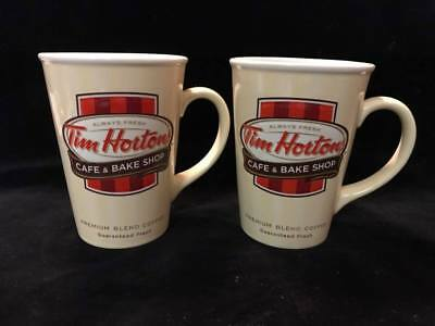 Tim Horton's Cafe & Bake Shop Mugs 2012 Limited Edition Always Fresh