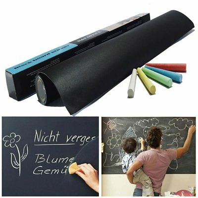 Chalkboard Chalk Board Whiteboard Wall Sticker For Kids Play Study Blackboard J