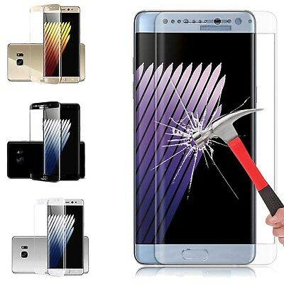 3D Curved Full Tempered Glass Screen Protector For Samsung Galaxy All Series ZB3