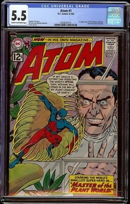 Atom # 1 CGC 5.5 CRM/OW (DC, 1962) 1st issue in series, looks 7.0+