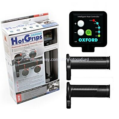 OXFORD Heated Hot Motorcycle Motorbike Premium TOURING 120 Grips Universal Fit