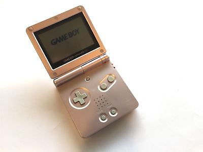 Nintendo Gameboy SP Pink Game Boy Advance GBA Console Plus Charger grade B