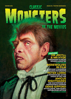 Classic Monsters Magazine Issue 5: Horror Film and Horror Movie Magazine