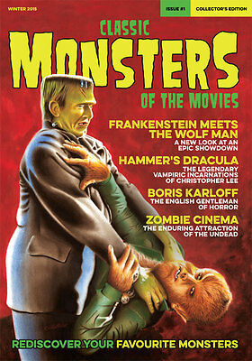 Classic Monsters Magazine Issue 1: Horror Film and Horror Movie Magazine