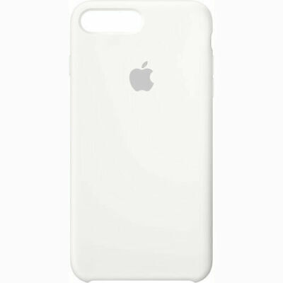 Apple iPhone 7/8 Plus Silicone Case - White