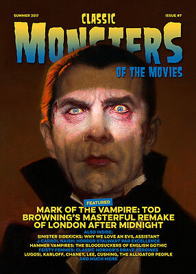 Classic Monsters Magazine Issue 7: Horror Film and Horror Movie Magazine