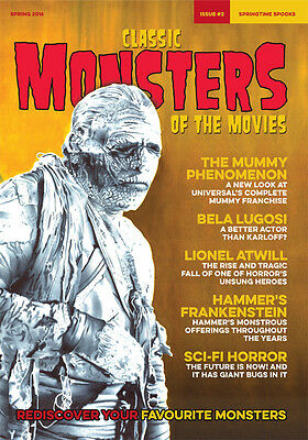 Classic Monsters Magazine Issue 2: Horror Film and Horror Movie Magazine