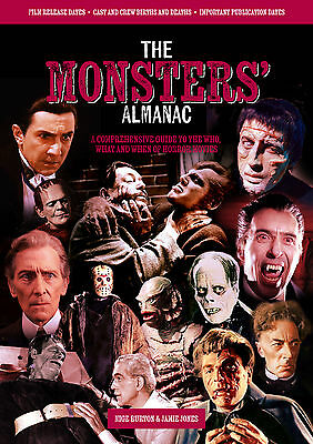 Monsters' Almanac: horror movie magazine with classic monsters and film info