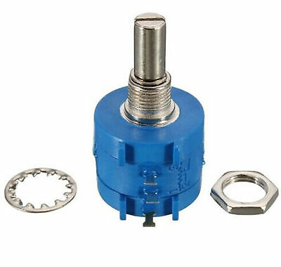3590S Rotary Wirewound Precision Potentiometer Ohm Variable Resistor 10 Turn New