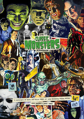 Classic Monsters Scrapbook Magazine - Horror Movie Facts & Trivia