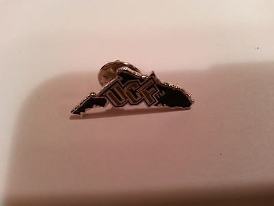 """UCF Central Florida Knights Vintage Lapel - Hat Pin"""" 1"""" x 1"""" RARE NICE NCAA MINT"""
