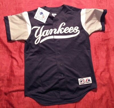 Major League Baseball New York Yankees Casacca M Genuine By Majestic U.s.a. New