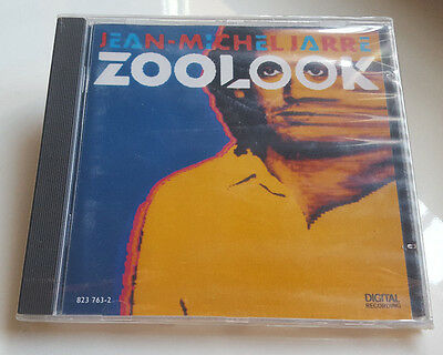 "Jean Michel Jarre ""zoolook"" Rare German Version Cd With Remixes / New & Sealed"