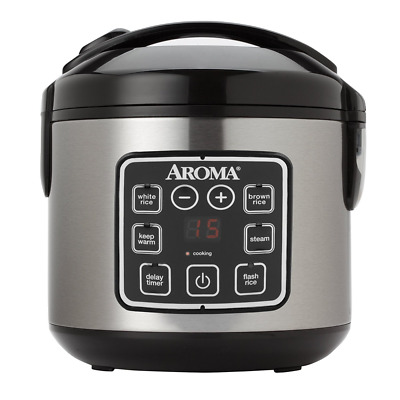 Instant Pot 8-Cup Cooker Programmable Electric Pressure Cooker And Steamer Rice