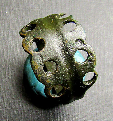 Ancient Bronze Ring. (12.5).