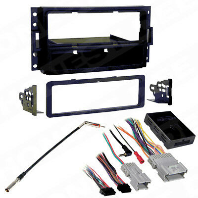 99-3304 Single Din Radio Install Dash Kit & Wires, Select GM Class II Vehicles