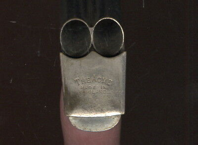 Unusual 2 Chamber Acme Whistle Made In England
