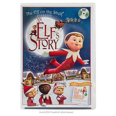 An Elf's Story (DVD, 2011)   The Elf on the Shelf     Brand New / Sealed