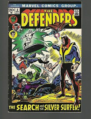 Defenders #2 Silver Surfer x-over