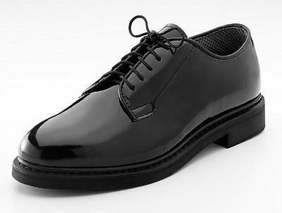 High Gloss Military Uniform Oxford Dress Shoes USN Army USMC Prom Wedding Tuxedo