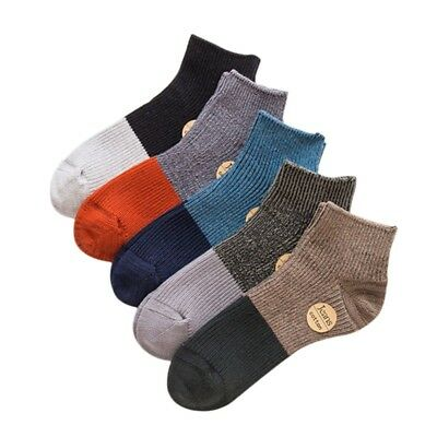 1 Pairs Mens Boy Sport Short Socks Low Cut Crew Casual Cotton Ankle Socks Summer