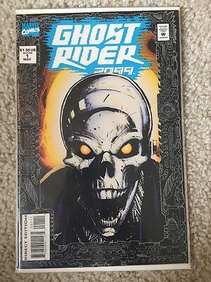GHOST RIDER 2099 #1 & 2 (Marvel) Bachalo VF- Cond!