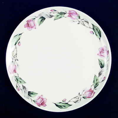 Universal PINK ROSES GRAY Lunch Plate S743919G2