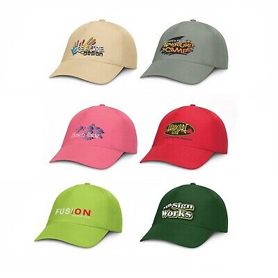 50 custom printed personalised promotional Oregon 5 Panel Cap with logo and text