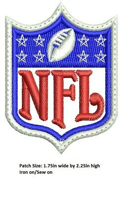 **LOVE IT OR ITS FREE** Logo NFL EMBROIDERED PATCH, FREE SHIP, USA SELLER