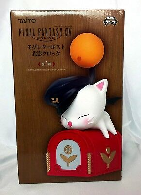 Taito Final Fantasy XIV Projection clock Moogle Mog Letter Post with tracking