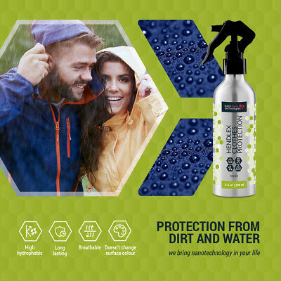 Nano shoes protection, waterproof, non water aqua, spray, Hydrophobic Hendlex
