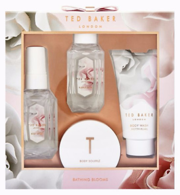 Ted Baker Bathing Blooms Pretty Pearl Body Gift set - BNIB - FREE P&P!