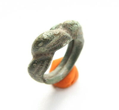 Ancient Old Viking Bronze Ring (ARL51)