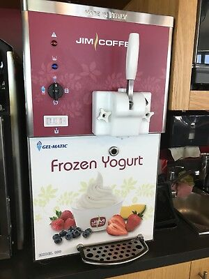 Softeis-/Frozen Yogurt Profimaschine Startset