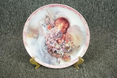 Bradford Exchange 1994 Sweet Dreams Porcelain Collector Plate 8 1/4""