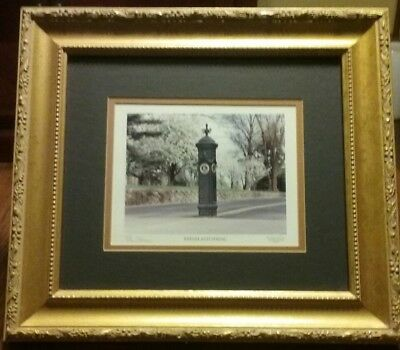 'Keeneland Spring' by Bill Straus - Framed & Double Matted Thoroughbred Racing