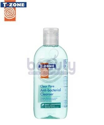 T-Zone Clear Pore Anti-Bacterial Cleanser With Tea Tree & Salicylic Acid 200ml