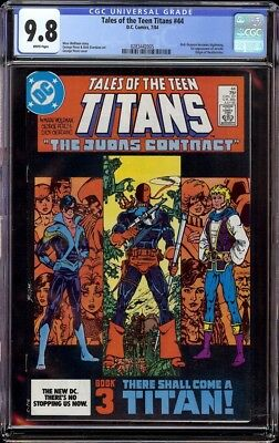 Tales of Teen Titans # 44 CGC 9.8 White (DC, 1984) 1st appearance Nightwing