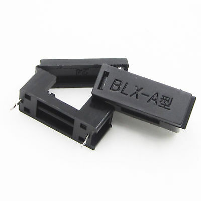 10/50PCS BLX-A type PCB Mount FUSE HOLDER 5MM X 20MM 15A/125v SOLDER HOLDERS