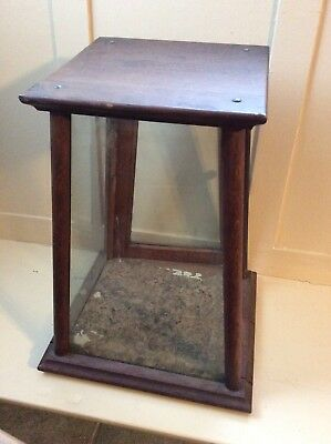Antique Sanford Ink Oak Cabinet Country Store Advertising Display