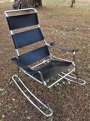 Rocking-chair fauteuil style Marcel Breuer