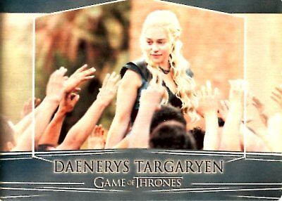 Game of Thrones Valyrian S RITTENHOUSE REWARDS METAL card 4A DAENERYS TARGARYEN