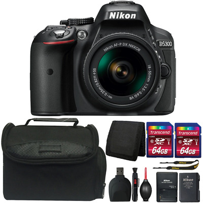 Nikon D5300 24.2MP DSLR Camera with 18-55mm Lens and Ultimate Accessory Bundle