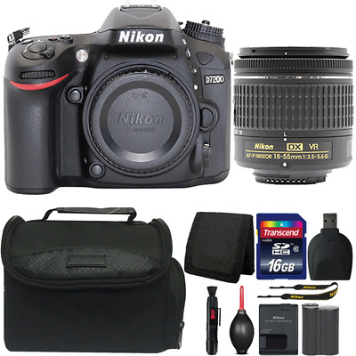Nikon D7200 DSLR Camera with 18-55mm Lens and Ultimate Accessory Bundle