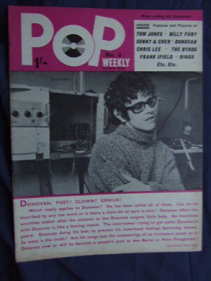 Pop Weekly No 2 1965 (4th series).  The Golden Age of UK Pop Music!
