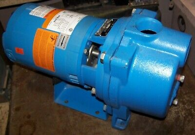 "New Goulds 1-1/2"" Self-Priming Irrigation Centrifugal Pump 3/4 Hp Gt073"