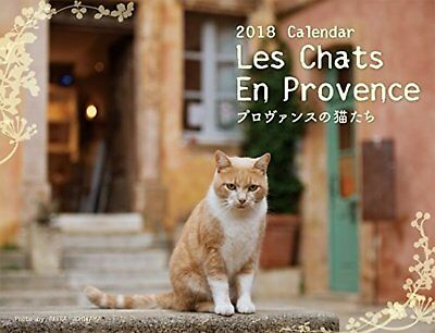 2018 Provence Cats Calendars (Wall-Mounted) Free Ship w/Tracking# New from Japan