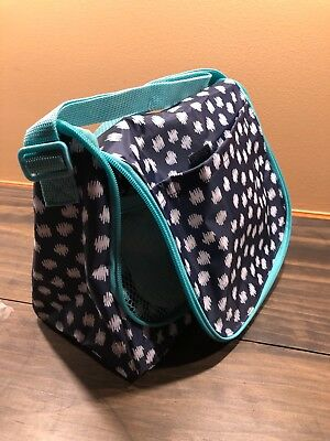 Thirty One Going Places Thermal in Navy Doodle Dot MSRP $25