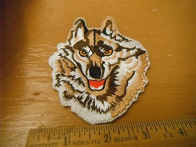 WOLF Iron on Patch (New Patch)